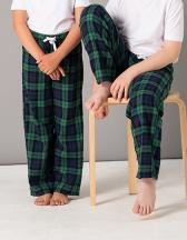 Kids Tartan Lounge Pants
