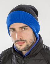 Recycled Black Compass Beanie