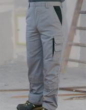 Contrast Work Pants