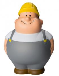 SQUEEZIES® Construction Worker Bert®