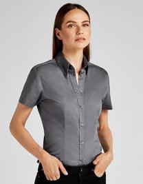 Women`s Tailored Fit Corporate Oxford Shirt Short Sleeve