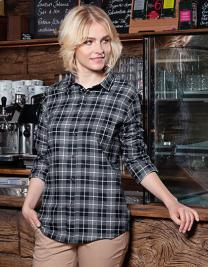 Ladies` Checked Shirt Urban