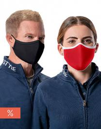 Premium Mouth-Nose-Mask (AFNOR Standard certified; Pack of 3)