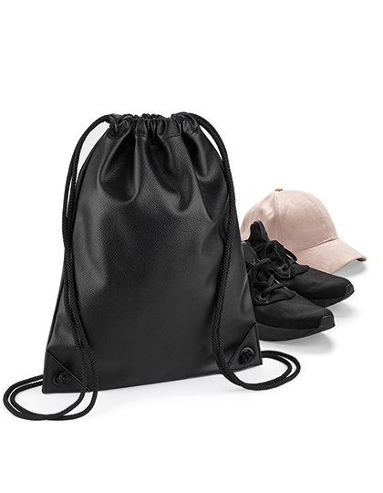 Faux Leather Gymsac