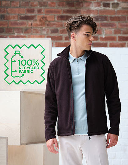 Honestly Made Recycled Full Zip Microfleece