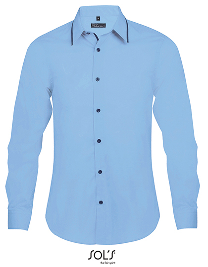 Long Sleeves Fitted Shirt Baxter Men